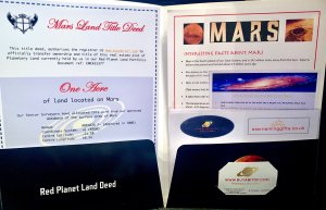 Buy an Acre of Mars Gift