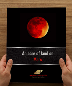 buy land on mars?