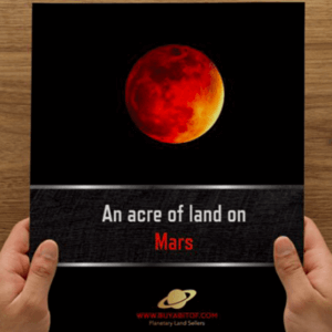 Land on Mars for sale
